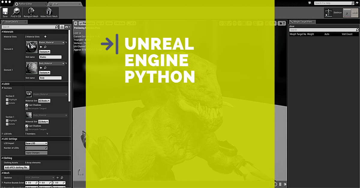 Your First Automated Pipeline with Unreal Engine Python